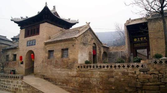 中国传统村落山西晋城阳城县润城镇上庄村图片