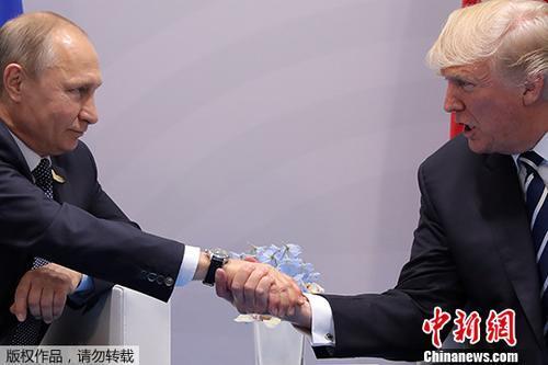 普京:只要美国做好准备 随时可与特朗普会晤