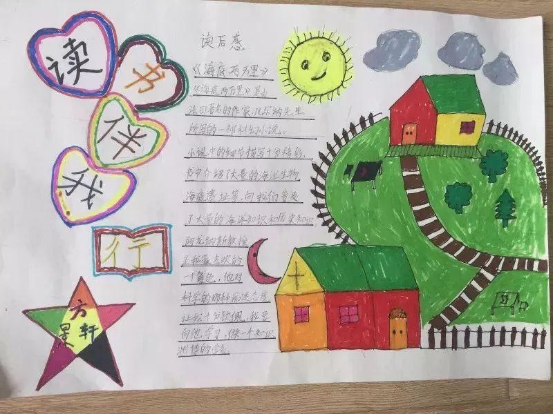 二年级小朋友制作的手抄报图片