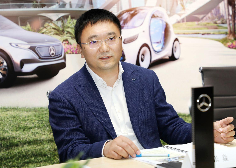 2018奔驰亚洲CES媒体科技日 专访倪恺/张焱先生(第1页) -