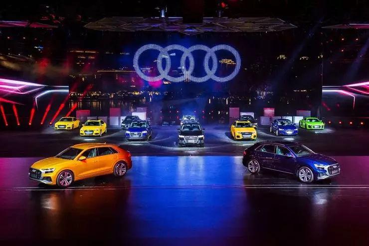 奥迪Q8在中国全球首发,正面交锋奔驰宝马轿跑SUV