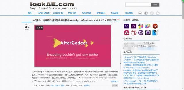 LookAE.com-大众脸影视后期特效