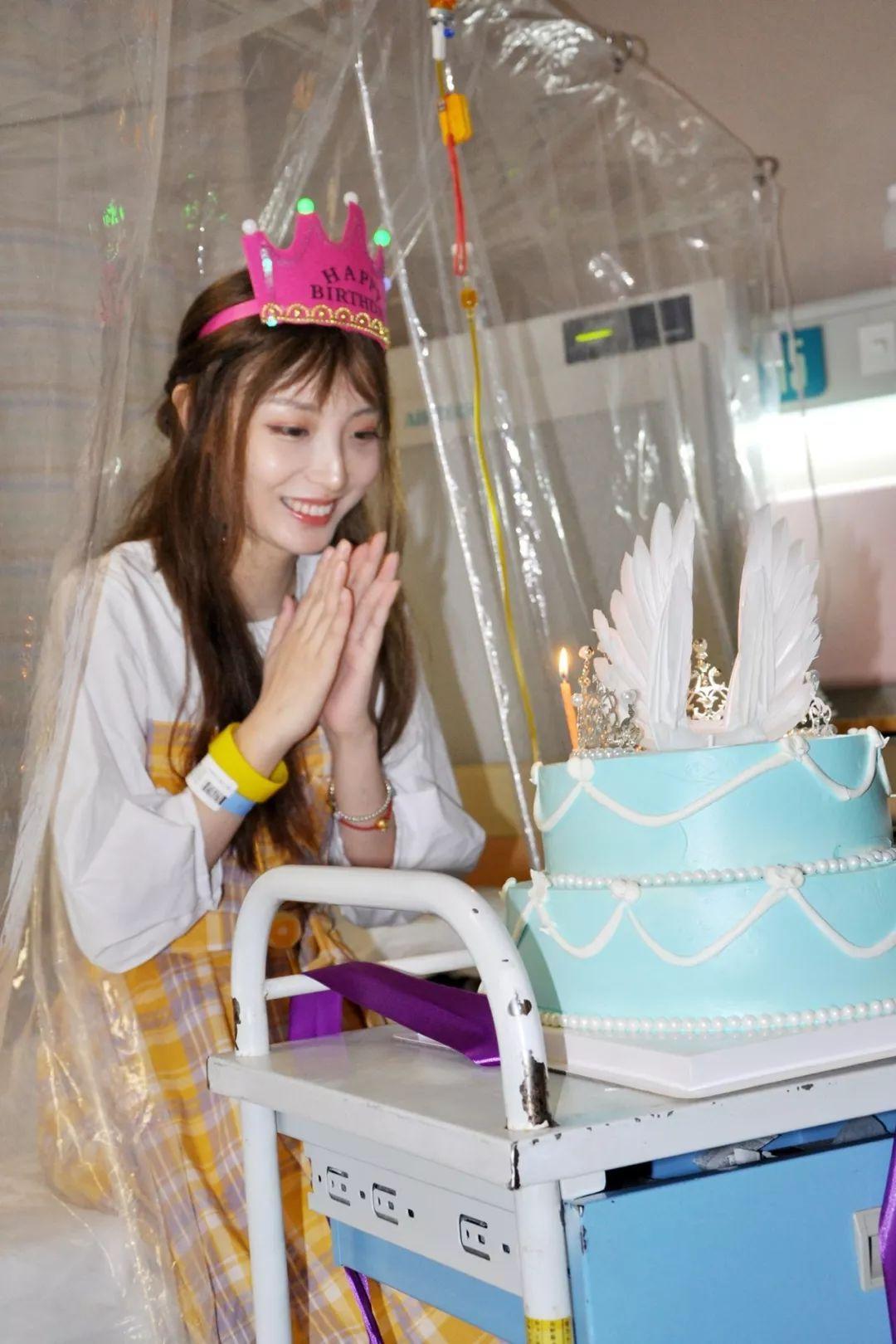 27岁白血病女主播昨天病房庆生,胡歌托人送来特别礼物