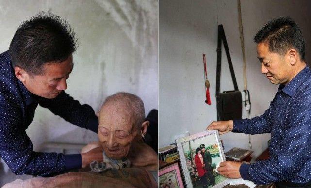 安康男子妻子因病离世独自养大两闺女 照料瘫痪老爸18年