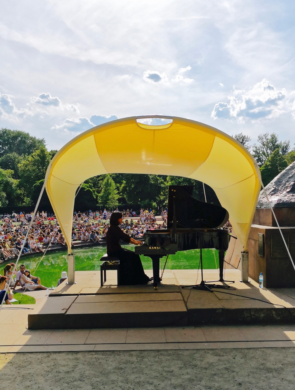 波兰图集:烈日下的露天音乐会,波兰人有多爱肖邦啊