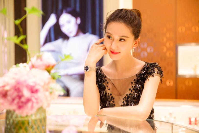 在星空下邂逅了刘诗诗:欧米茄星座系列腕表展闪耀北京SKP