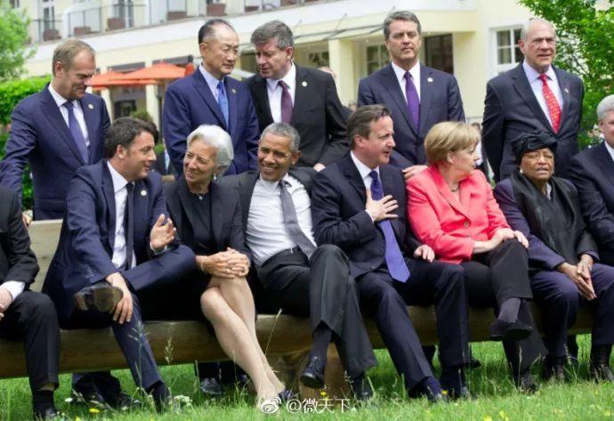 """G7峰会:一张绝了的照片?更爆的是特朗普突然""""破口大骂""""……"""