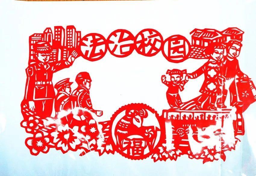 △法治绘画剪影展-全区瞩目 年度法治教育大戏,原来法律还能这样学