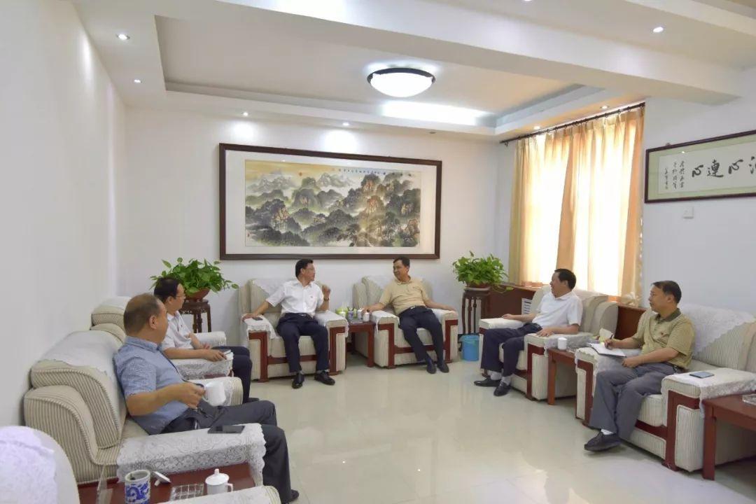 杨跃民会见河南能源义马煤业集团股份有限公司
