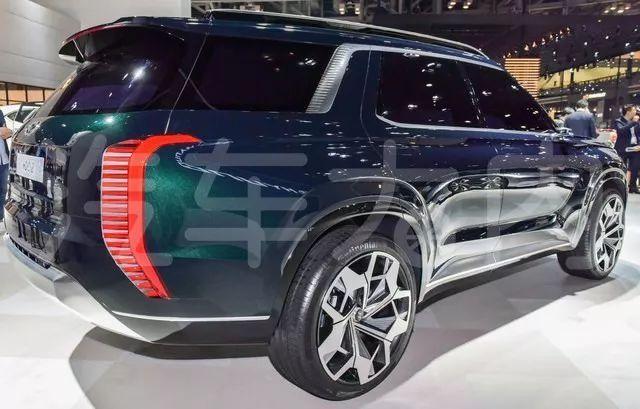维拉克斯继任者现代旗舰8座SUV量产版路测_快乐十分容易出的5个号