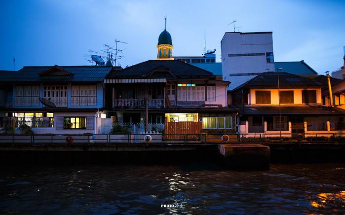 运河上,不走寻常路打卡曼谷