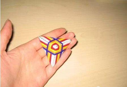 纸折粽子步骤图解