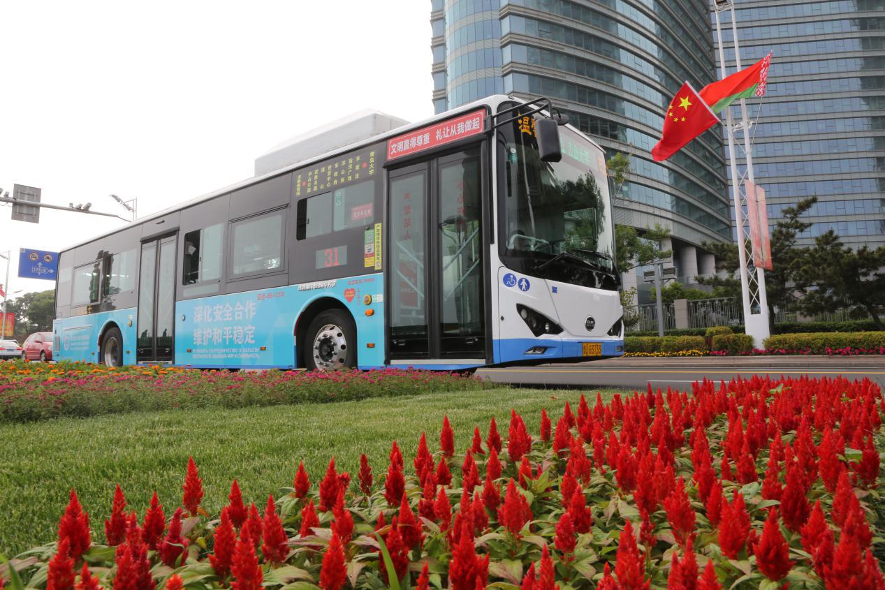 向世界展示中国方案,比亚迪客车赞助上合组织青岛峰会