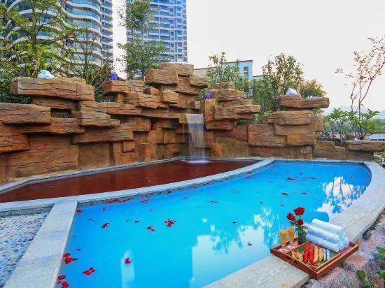 599元住南昆山全新五星,3早+山泉水泳池+私家温泉池+露天温泉!