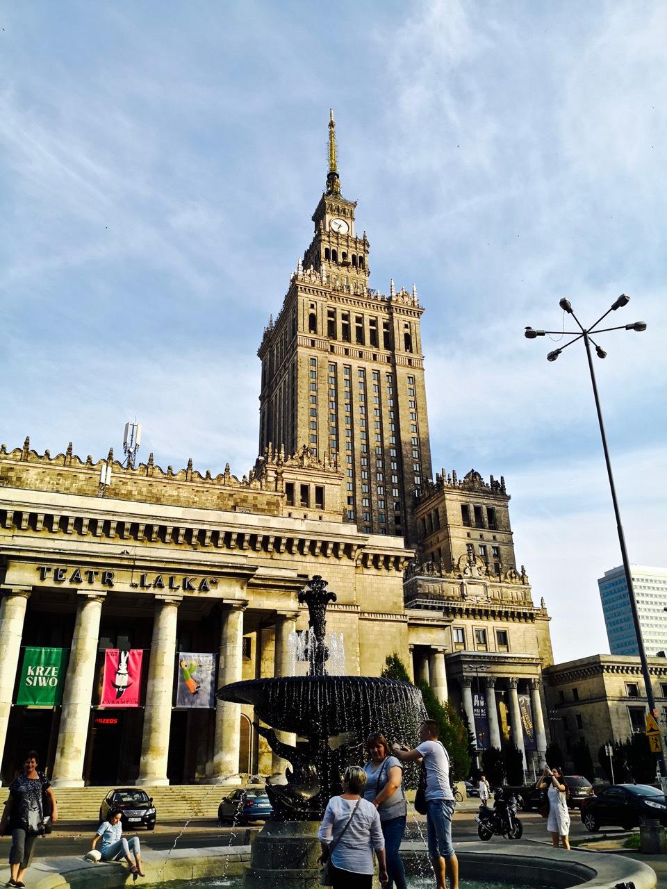 华沙图集:前苏联送给波兰的礼物,至今还是最高建筑,名叫北京