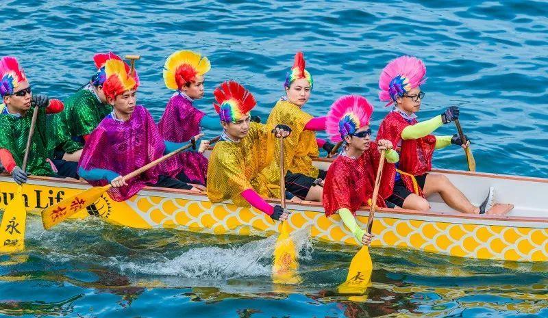 """平底锅、球拍……花式划龙船法在此,小长假去香港感受别样""""端午节"""""""