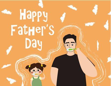 亲子t恤手绘大趴 把对父亲最深情的爱全画在你的t恤上吧 特别的日子