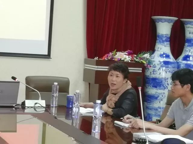 【学院动态】华中师范大学付海晏教授莅临我院进行硕士生,博士生招生
