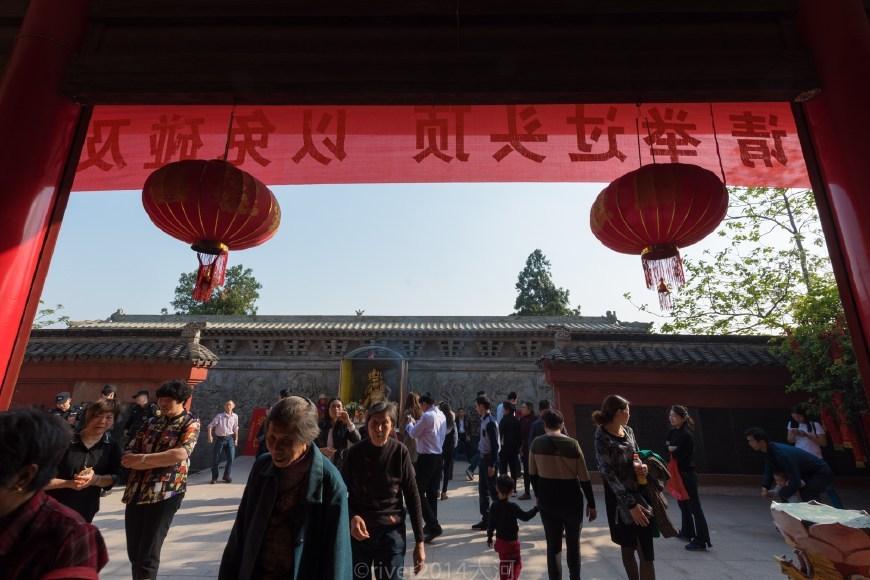江苏靖江唯一的山,海拔只有55米,因每年庙会闻名