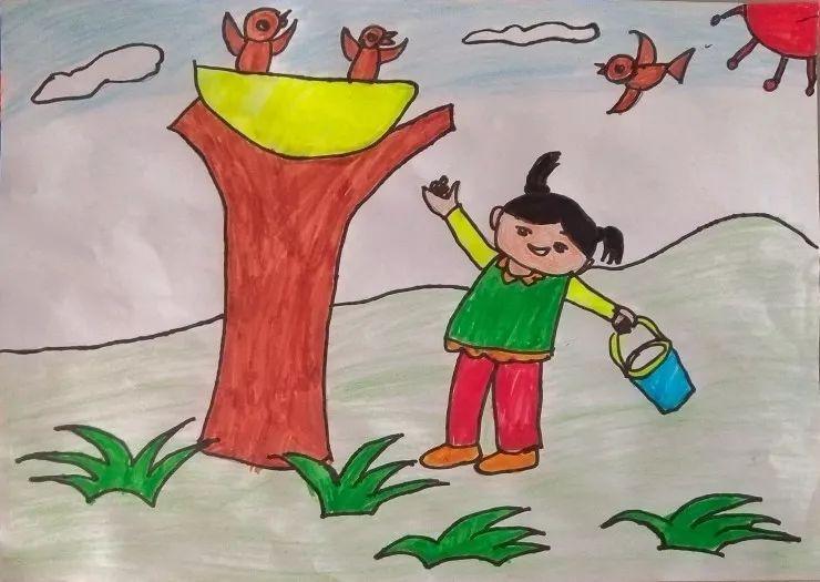 """【童画新时代 手绘价值观】""""和谐""""就是这么简单!"""