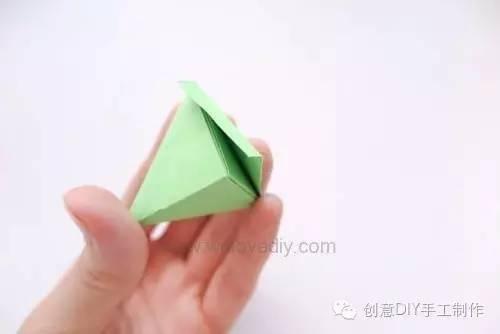 【小天使亲子团】亲子手工丨迷你粽子折纸
