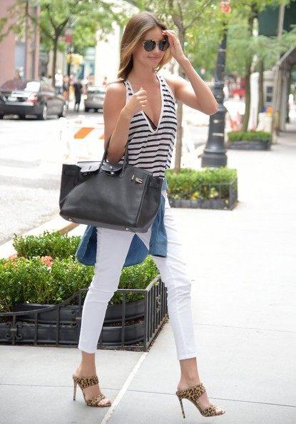 像米兰达·可儿这样穿就对了,这个夏天再也不用犯愁了,一定很美