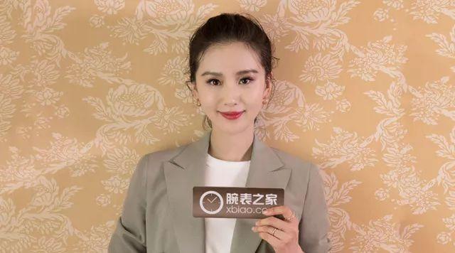 我们问了刘诗诗几个问题,关于腕表她这么说