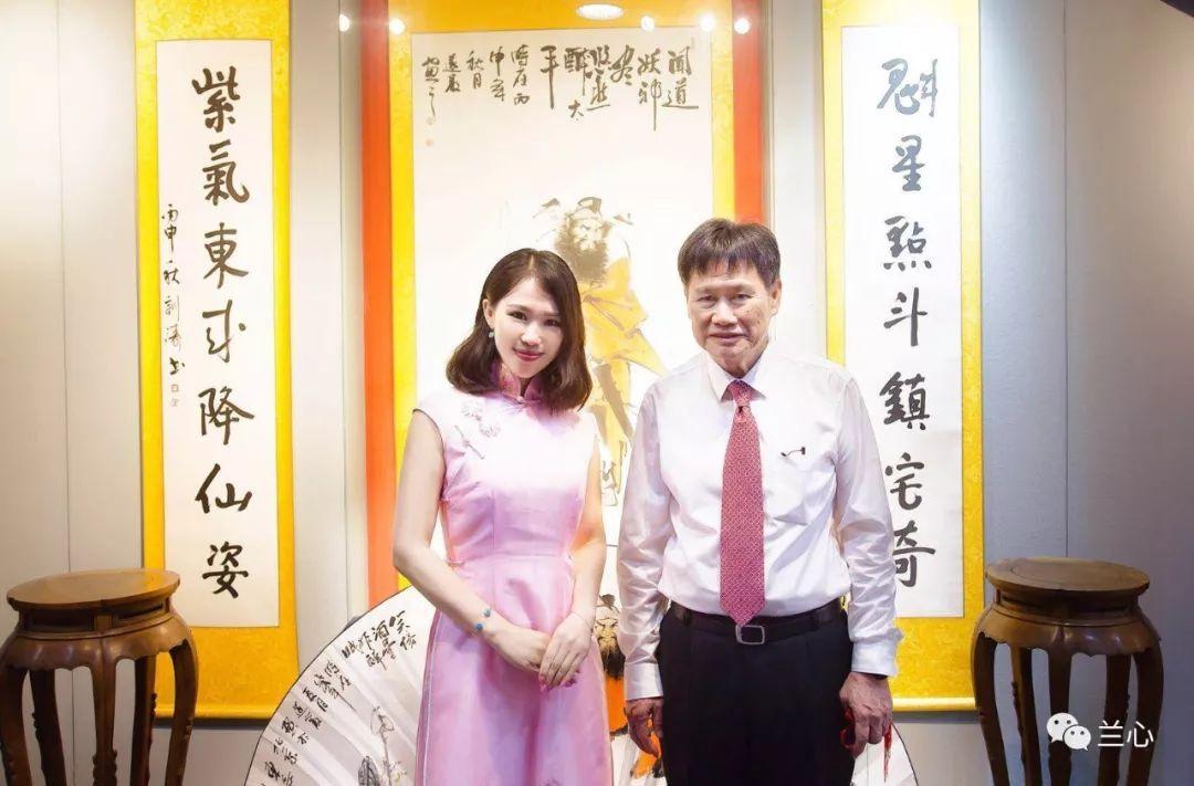 兰心英文主持东盟秘书长林玉辉一行茶话会图片