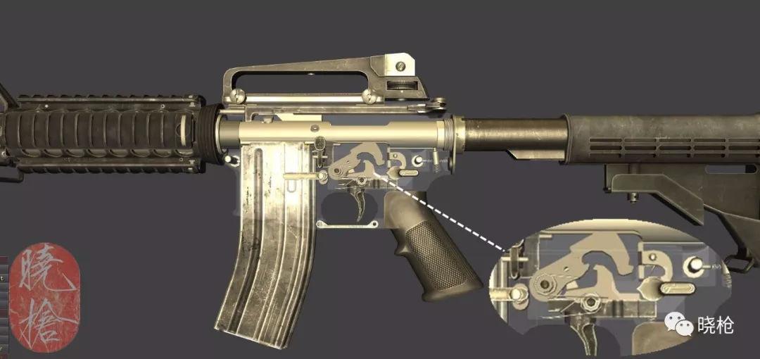 后仓击锤_此时,如果枪械未出故障,那么击锤将不会被释放.