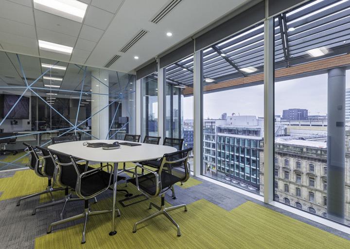 合肥800平方办公室装修设计案例解析