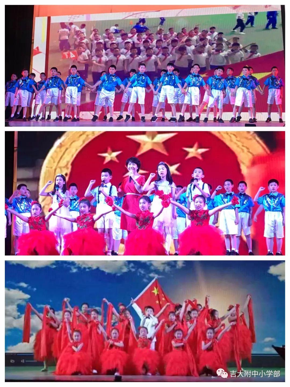 《共筑中国梦》中,五个班级动情的舞蹈舞动出美丽的中国梦,扇子舞,歌
