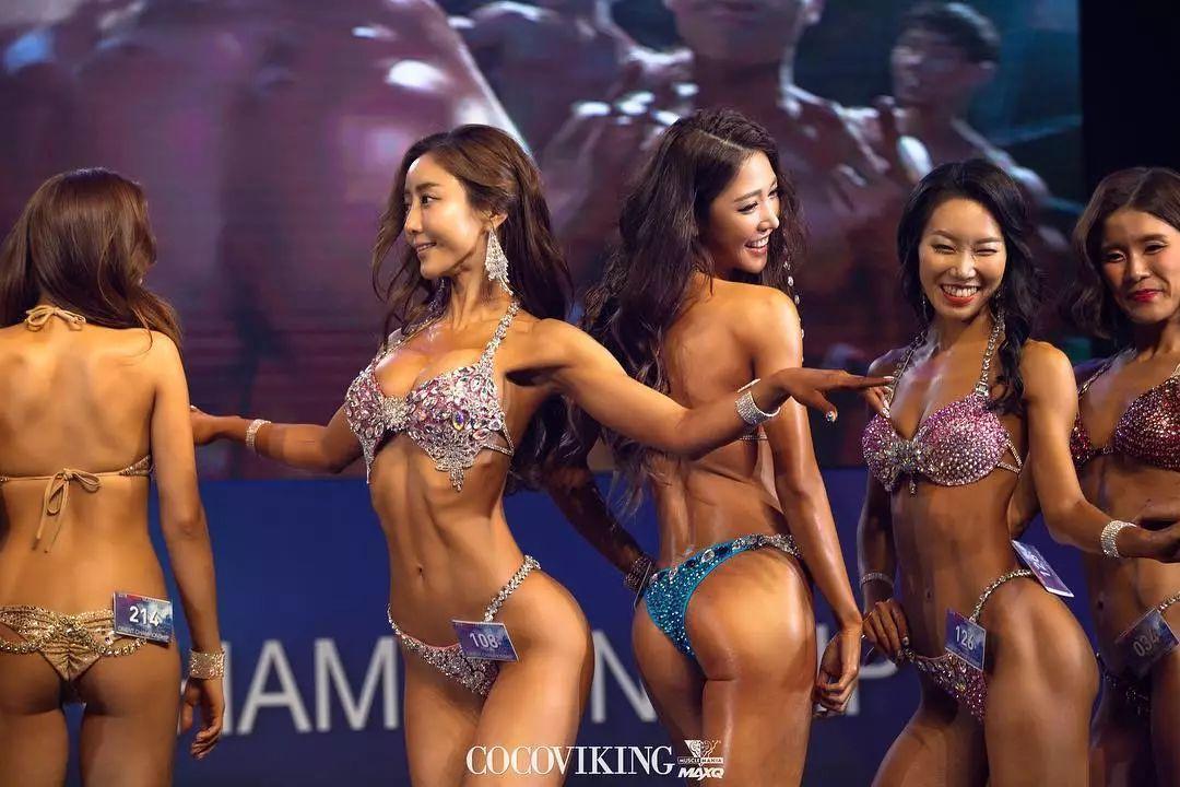 2018韩国比基尼大赛,果然看完会有心跳过速的冲动....