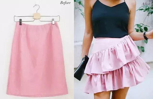 旧裙改造| 简单几步,铅笔裙秒变蛋糕裙!49 作者:千叶老师 帖子ID:2653