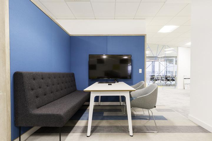 800平方中型办公室装修设计作品欣赏