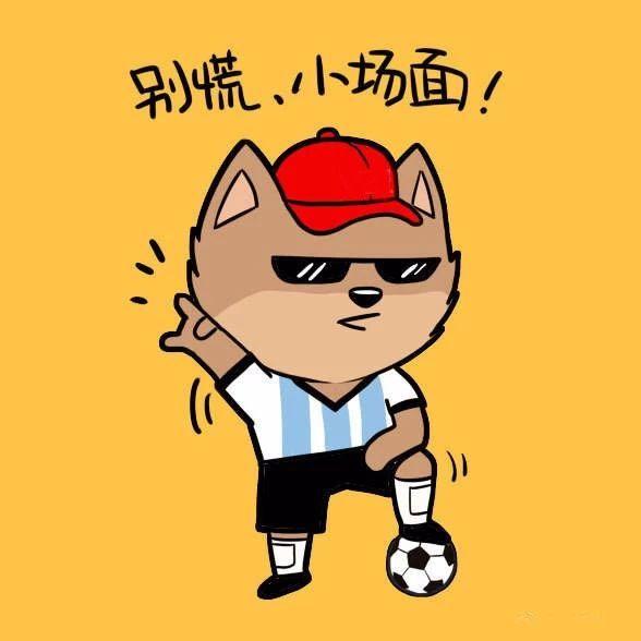 2018世界杯加油表情包图片