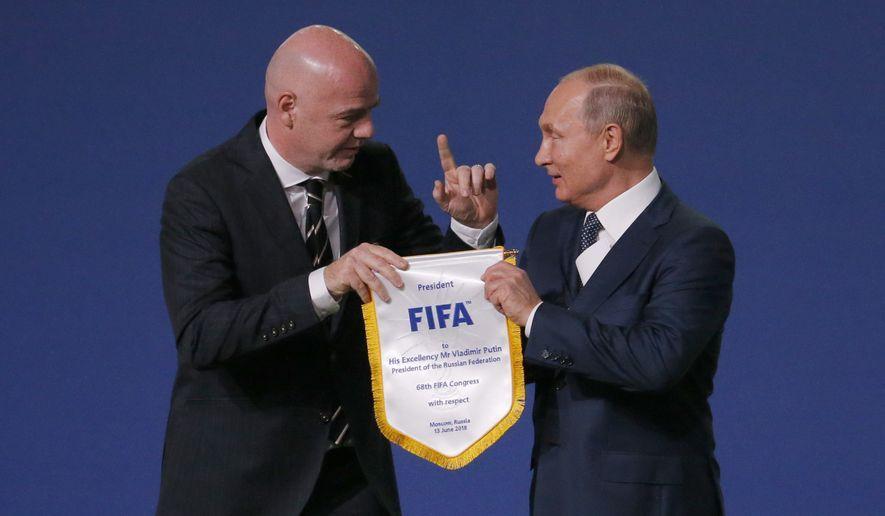 申办成功特朗普发文庆祝 俄方:欢迎来看世界杯