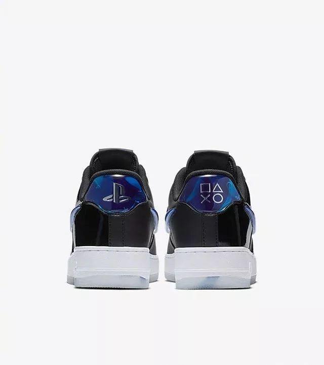"Nike Air Force 1 ""PlayStation"",这配色够梦幻吗?"