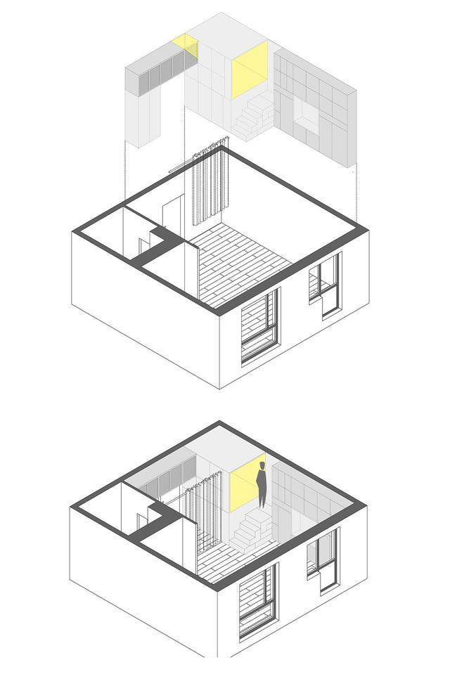 cad卫生间隔断平面图