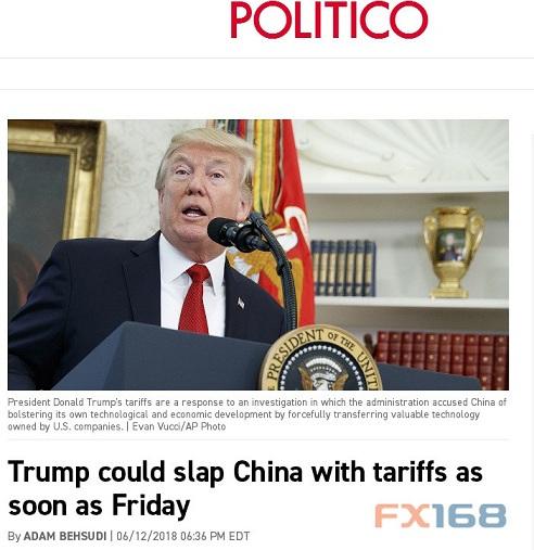 """特朗普周五又要有""""大动作""""?这则消息""""吓坏了""""美元多头"""