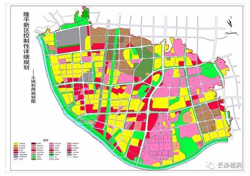 片区规划图 (2016年公示版) 地价参考 2017年2月,芙蓉区浏阳河东岸