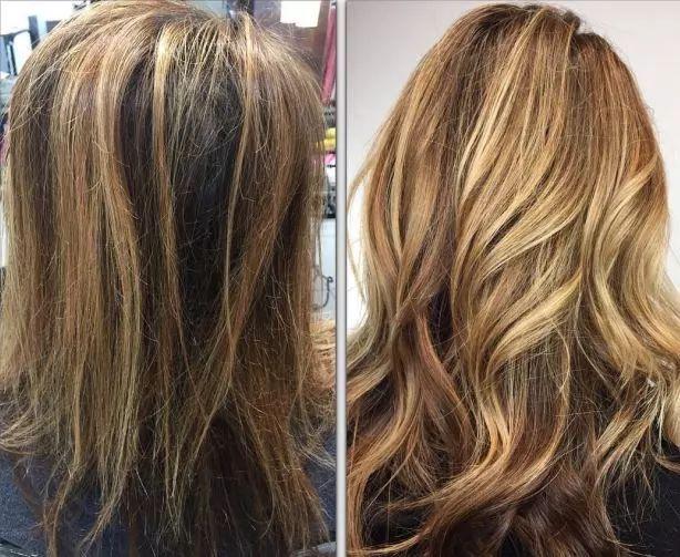 感觉很贴近,比较适合头发容易断裂(初期)缺乏光泽,看起来蓬松难打理