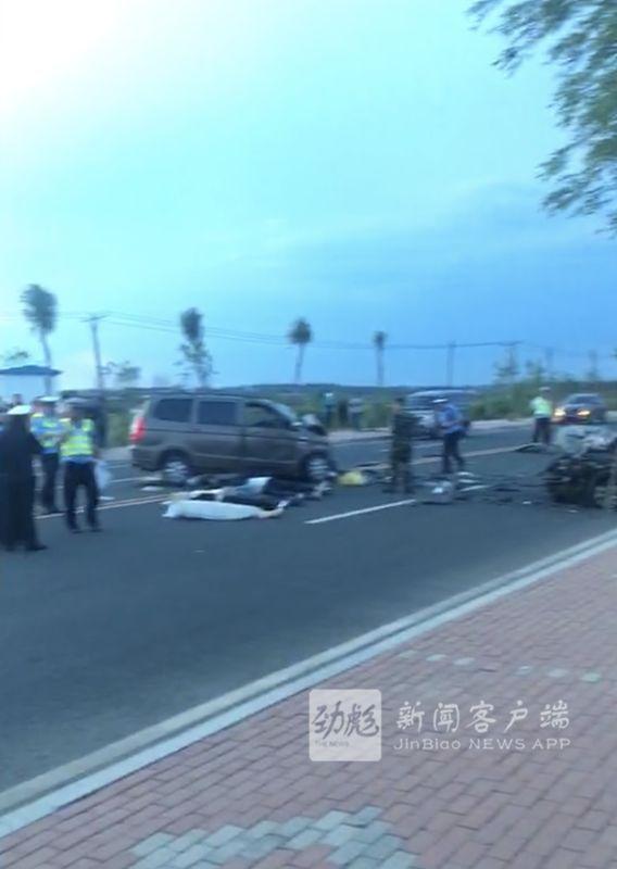惨痛!5死7伤!滨水大道两车相撞丨警方通报来了