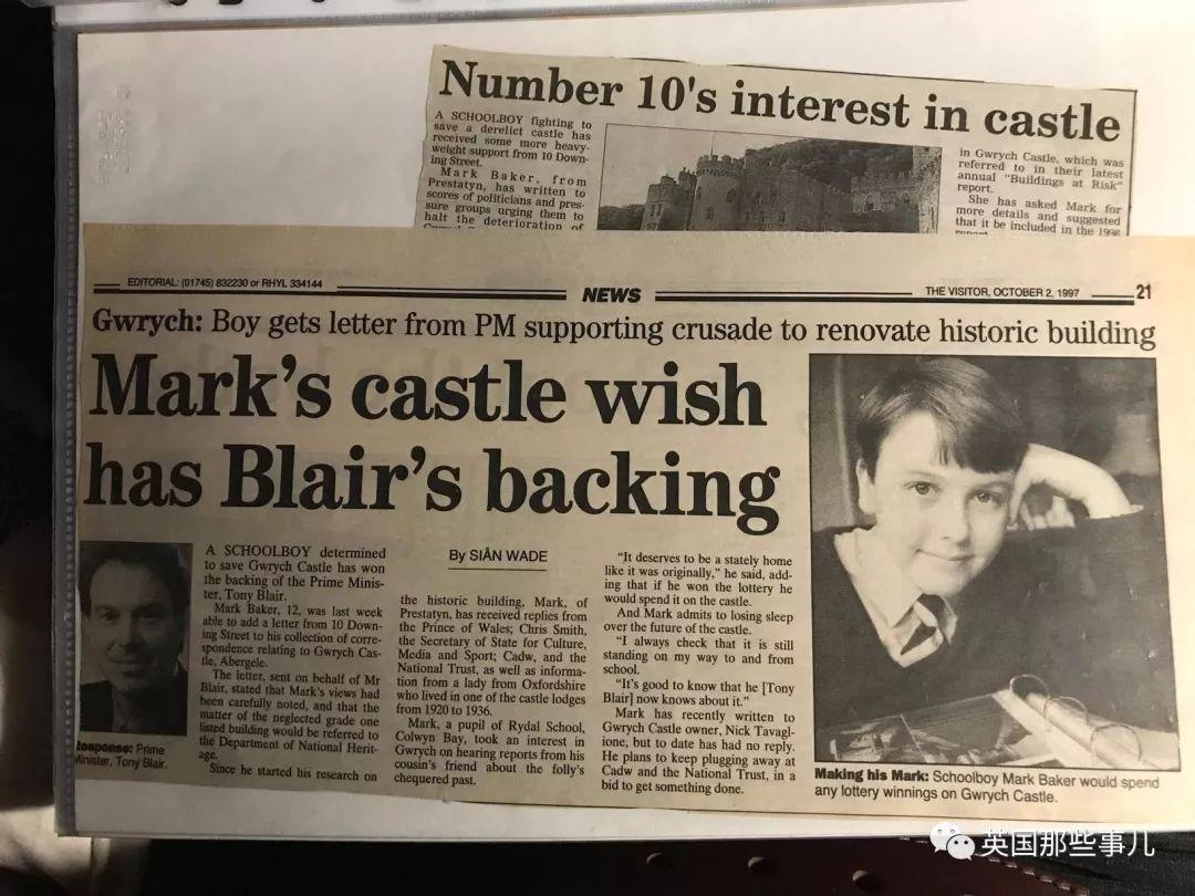11岁英国小男孩爱上一座古堡…20多年后,他的童话梦成真了