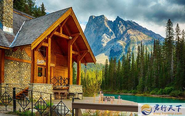 美国旅游攻略带你体验黄石公园小木屋的惬意图片