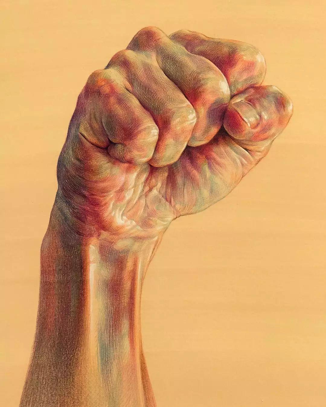 黑州人体艺术_韩国艺术家的彩铅人体结构,太惊艳了