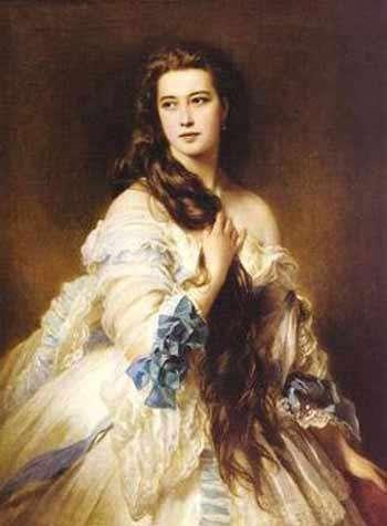 世界名画里十大绝色美女赏析,油画大师笔下那些令人一图片