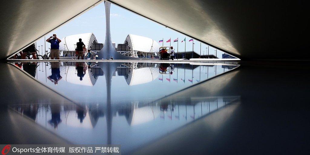 高清图:索契世界杯体育场_标志性建筑景色优美