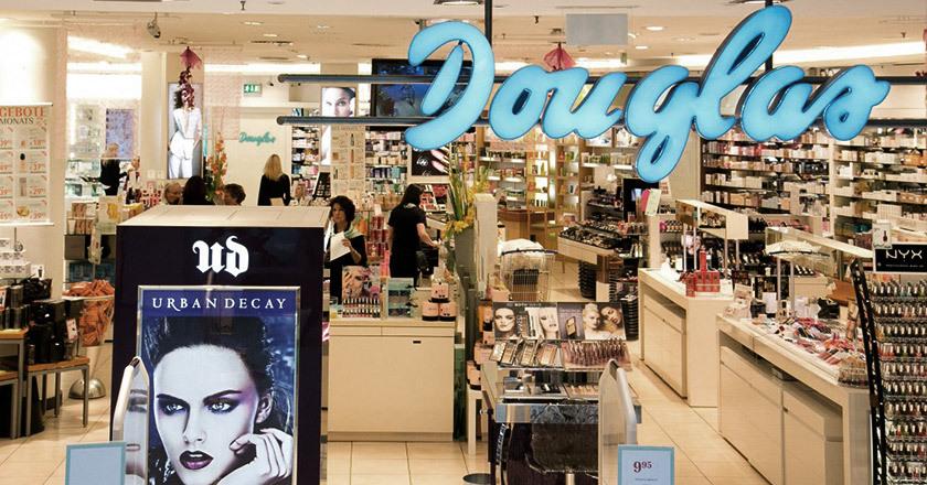道格拉斯瓷砖旗舰店LOGOAPLUS-德国化妆品牌Douglas道格拉斯启用