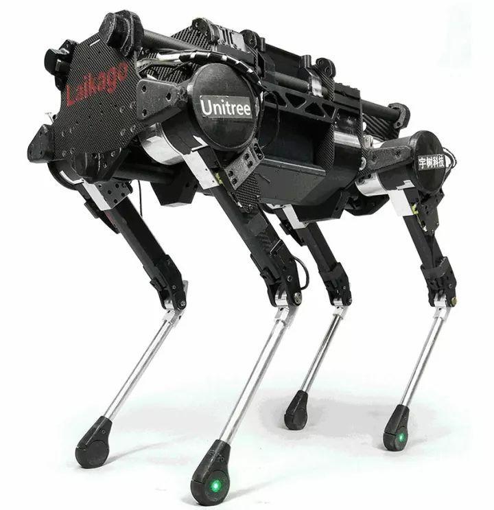 骄傲+1 中国这个90后研发的机械狗