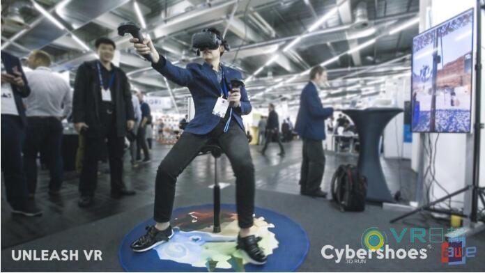 E3 2018:Cybershoes推出新款VR鞋 帮助用户在虚拟世界